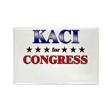 KACI for congress Rectangle Magnet