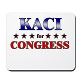 KACI for congress Mousepad