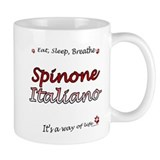 Spinone Breathe Small Mugs