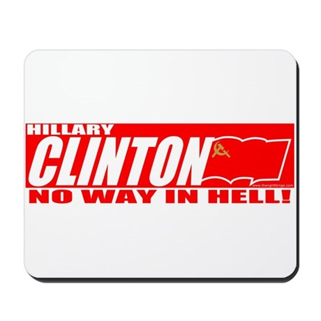 No Way In Hell Mousepad