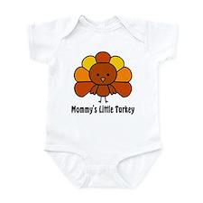Mommy's Litttle Turkey Infant Bodysuit