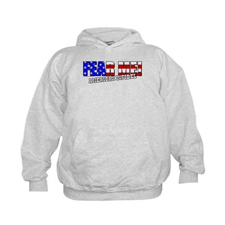 Fear Me! Infidel Kids Hoodie