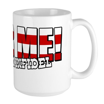 Fear Me! Infidel Large Mug