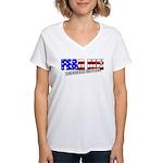 Fear Me! Infidel Women's V-Neck T-Shirt