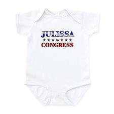 JULISSA for congress Infant Bodysuit