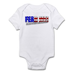Fear Me! Hardcore American Infant Bodysuit