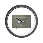 Forensic Toxicology Wall Clock