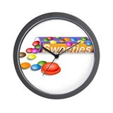 Sweeties Wall Clock