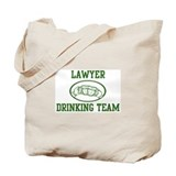 Lawyer Drinking Team Tote Bag