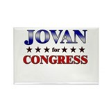 JOVAN for congress Rectangle Magnet