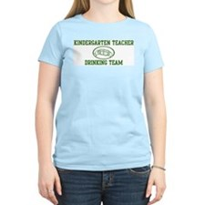 Kindergarten Teacher Drinking T-Shirt