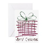 MERRY CHRISTMAS ART Greeting Cards (Pk of 20)