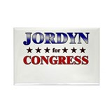 JORDYN for congress Rectangle Magnet