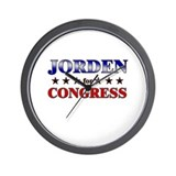JORDEN for congress Wall Clock