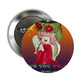 "Unto us a child is born 2.25"" Button"