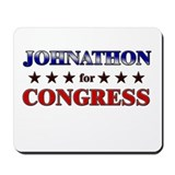 JOHNATHON for congress Mousepad