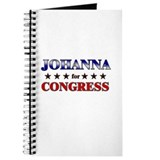 JOHANNA for congress Journal