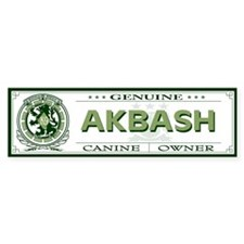 AKBASH Bumper Bumper Sticker