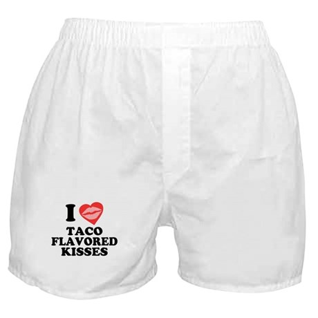Taco Flavored Kisses Boxer Shorts