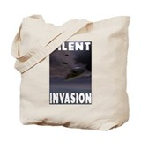 Silent Invasion Tote Bag