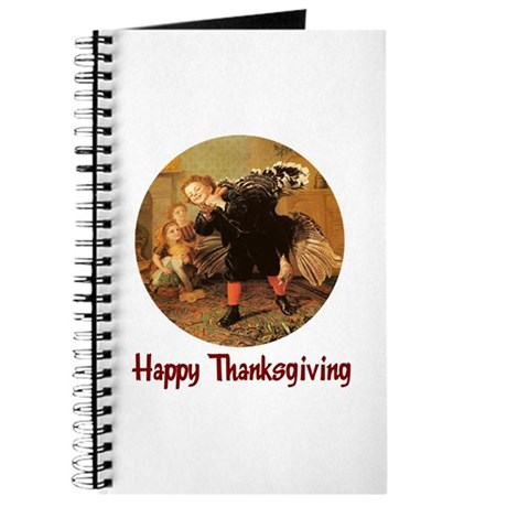 Boy and Thanksgiving Turkey Journal