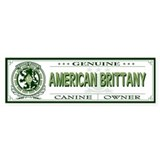 AMERICAN BRITTANY Bumper Car Sticker