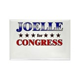 JOELLE for congress Rectangle Magnet