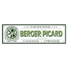 BERGER PICARD Bumper Bumper Sticker