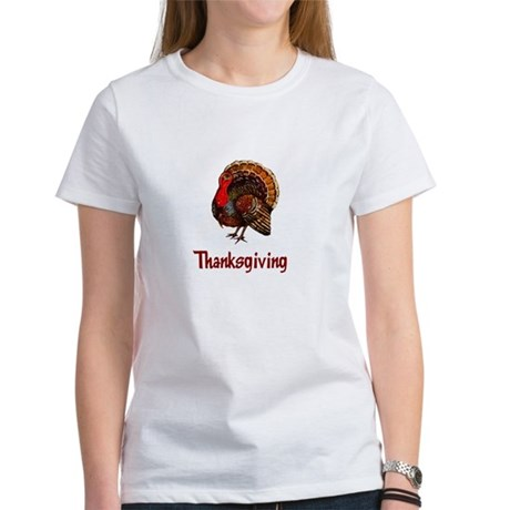 Thanksgiving Turkey Women's T-Shirt