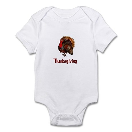 Thanksgiving Turkey Infant Bodysuit