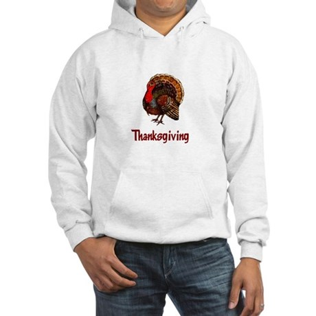 Thanksgiving Turkey Hooded Sweatshirt