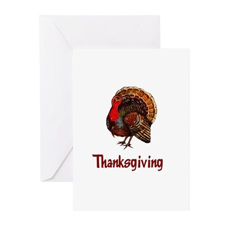 Thanksgiving Turkey Greeting Cards (Pk of 20)