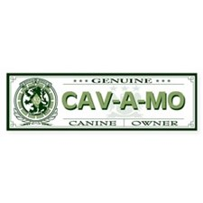 CAV-A-MO Bumper Bumper Sticker