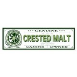 CRESTED MALT Bumper Bumper Sticker