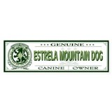 ESTRELA MOUNTAIN DOG Bumper Car Sticker
