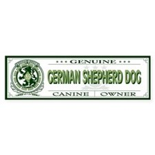GERMAN SHEPHERD DOG Bumper Bumper Sticker