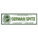GERMAN SPITZ Bumper Car Sticker