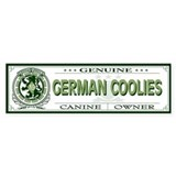 GERMAN COOLIES Bumper Bumper Sticker