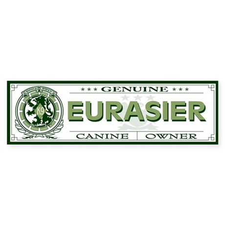 EURASIER Bumper Sticker