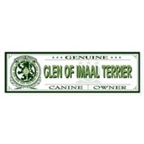 GLEN OF IMAAL TERRIER Bumper Car Sticker