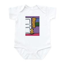 Pug at the Door Infant Bodysuit