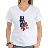 Old Glory Horse Shirt