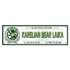 KARELIAN BEAR LAIKA Bumper Bumper Sticker