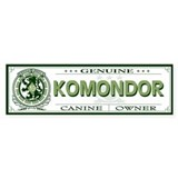 KOMONDOR Bumper Car Sticker