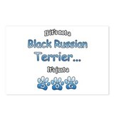 Black Russian Not Postcards (Package of 8)