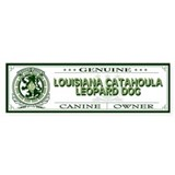 LOUISIANA CATAHOULA LEOPARD DOG Bumper Car Sticker
