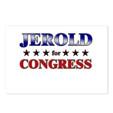 JEROLD for congress Postcards (Package of 8)