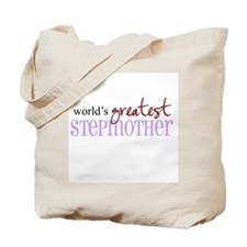 World's Greatest Stepmother Tote Bag