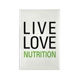 Live Love Nutrition Rectangle Magnet (100 pack)
