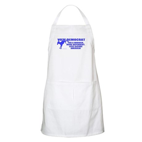 Vote Democrat BBQ Apron